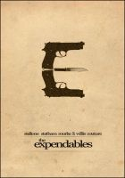 The Expendables Movie Poster by Al-Pennyworth