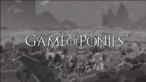 Game of Ponies - Wallpaper [1920x1080] by R4inbowbash