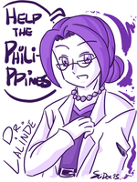 Help the Philippines - Dr. Lalinde by SLiDER-chan