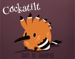 Birdstarter Day 15: Hoopoe by Furrama