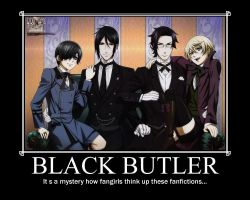 Black Butler Motivational Poster by Alicehime21