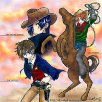Wild West - PPM Bishie style by torikat