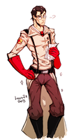 Red Medic TF2 by Leonifa