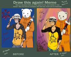 Before and After Meme by xXMiuXx