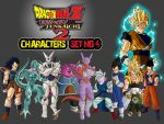 Dragon Ball Z Characters Set4 by The-Lonely-Wolf