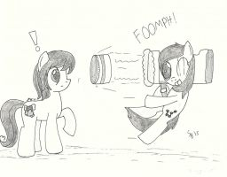 Request - Assault with a Deadly Batter by StarlightBlossom