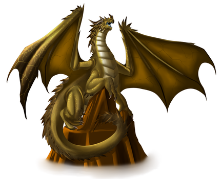 Yellow Dragon by Lordstevie