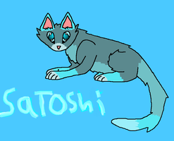 Satoshi {Cat Version} by Ask-Weaselfur