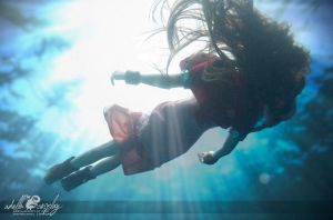 Aeris Underwater - Cosplay by Adella