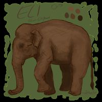 Als Elephant Charrie Xmas by DaggarHeart