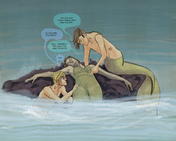 Mermen are classy monsters by deathbearbrown