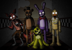 Five Nights of Fear by DarkRavenofChaos