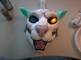 Eyelids/lips and ears done! by slarson802