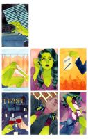 She Hulk Issue #2 by kevinwada