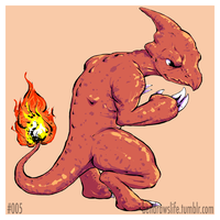 005 Charmeleon by bensigas