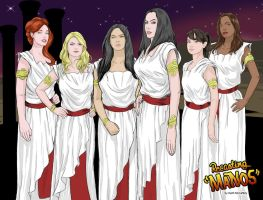 The Wives of Manos by Thinkbolt