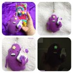 LSP Plush Phone Charm by TiffyyyCuppyCake