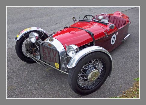 Morgan 3 wheeler. L1040821, with story by harrietsfriend