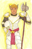 Paladin Germain by Red-Delphi
