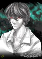 Light Yagami by Dawitch