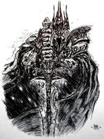 Lich King, Lord of the Scourge by unknown3173
