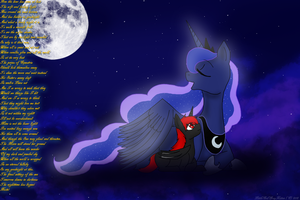 The Moon Rises by DarkDreamingBlossom