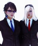 Women in Suits 2: Electric Boogaloo by AmanoSomething