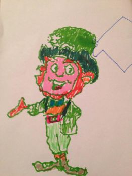Patrick the happy leprechaun  by mosterman500
