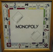 Monopoly Board Cross Stitch by rhaben