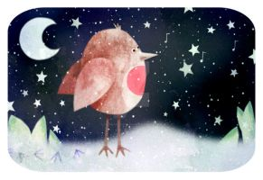 Have a Chirpy Christmas ... by HannahChapman