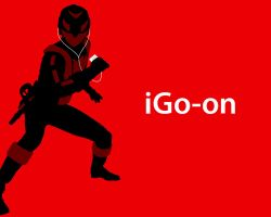 iGo-on Wallpaper by morgan-lamia