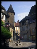 Medieval Town by griffintje