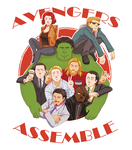 Avengers Assemble by Inedible-Sushi