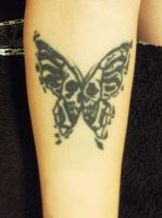 Tattoo Butterfly by VegaNya