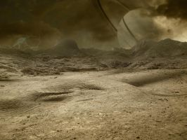 The Sands Of Titan Background by greyfortofmars