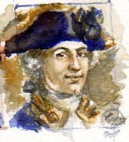 Horatio Nelson miniature by rum-inspector