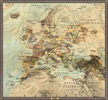 Europe in 1100 by JaySimons