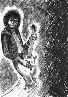 Jimmy Page by Jon-Wyatt