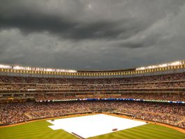 Target Field Rain Delay by JamminJo