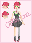 [OFFER TO ADOPT] Rose Girl [OPEN] by Chirin-doll