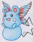 Old Pokemon, New Type 10: Azurill by Shabou