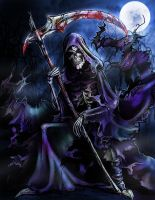 The Grim Reaper by HalloweenBloodyQueen