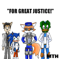 Crime-Fighters of 2013 by Marcusthehedgehog