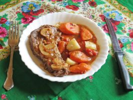 Tuscan Pot Roast by Kitteh-Pawz