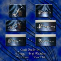 Candle snuffer set by Wicasa-stock