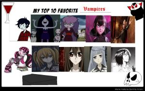My Top 10 Favorite Vampires by L-fangirl-101