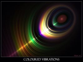Coloured Vibrations by Brigitte-Fredensborg