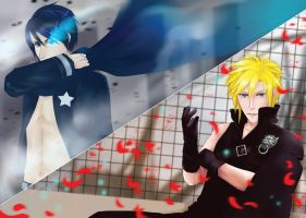 Cloud Strife + Kaito BRS by ernn