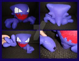 Haunter Pokemon Plush by Dark-and-One-Other