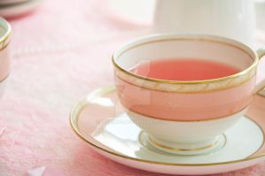 Cup of pink tea by TigerQG